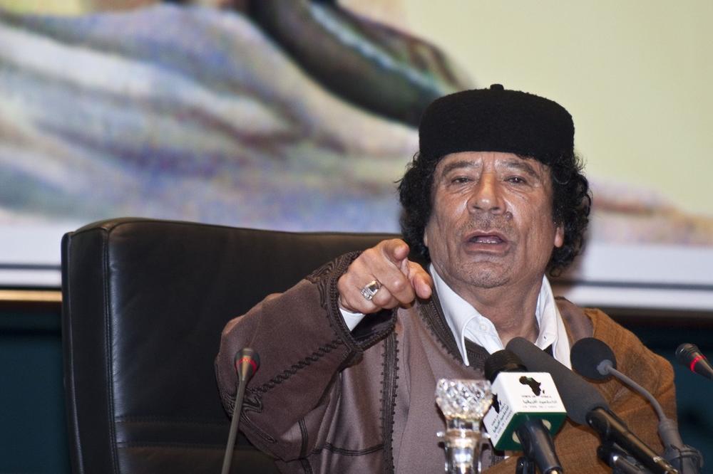 OSTVARUJE SE GADAFIJEVO PROROČANSTVO: Održao je istorijski govor, 2 meseca kasnije je krvnički ubijen! Pamte se ove reči